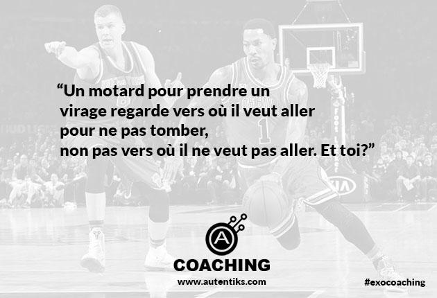 Exercice coaching semaine 1 Fabrice MARTIN Autentiks Derrick Rose