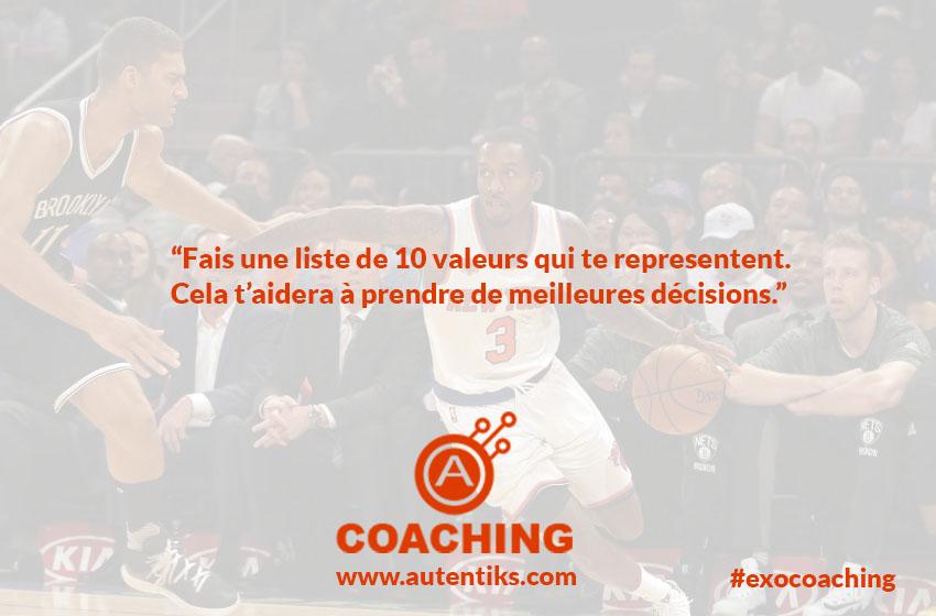 Semaine 3 - Exercice Coaching Fabrice MARTIN