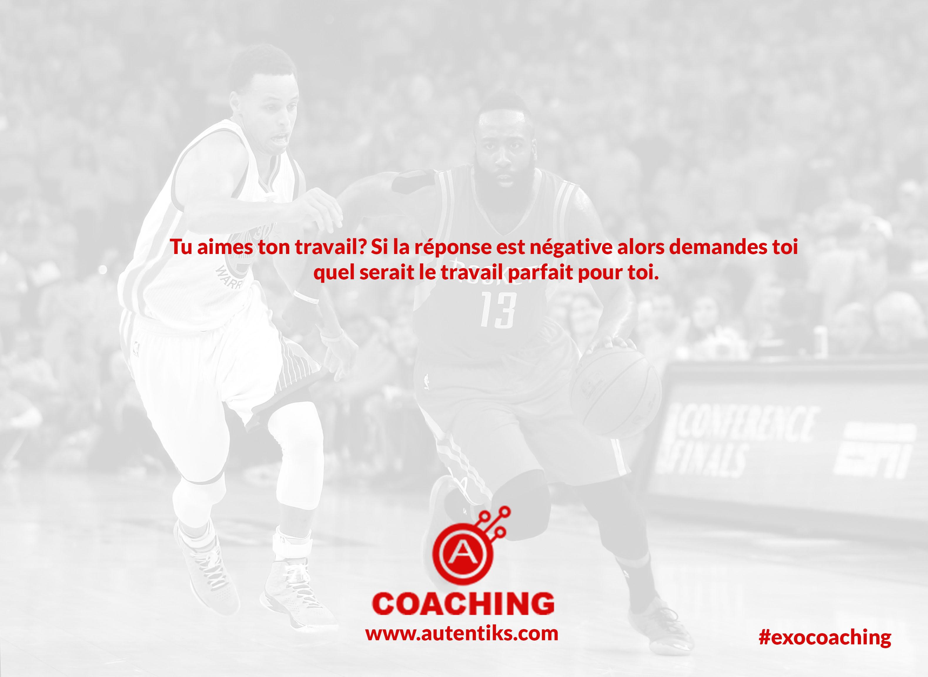 Semaine 13 – Exercice de Coaching