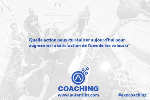 Semaine 5 – Exercice de Coaching