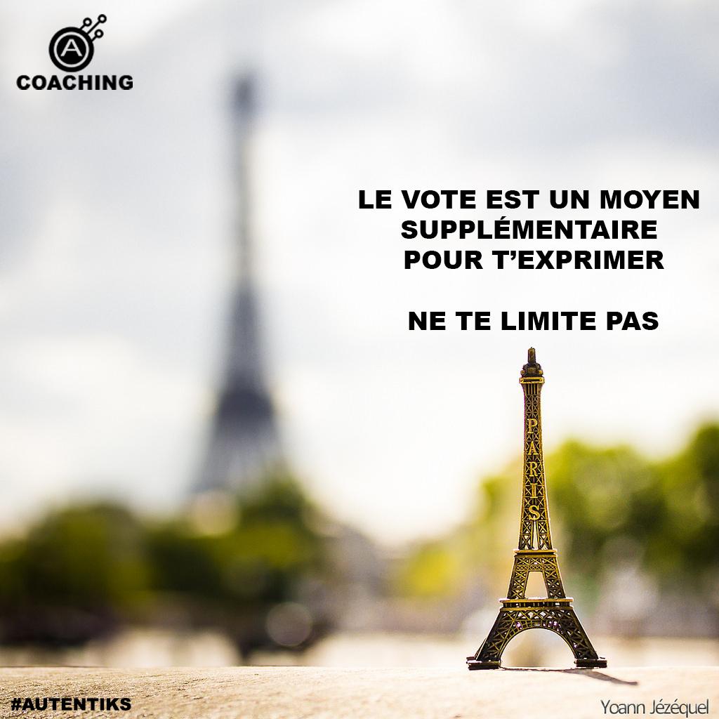 Autentiks Inspiration vote 2017 présidentielle sans limite