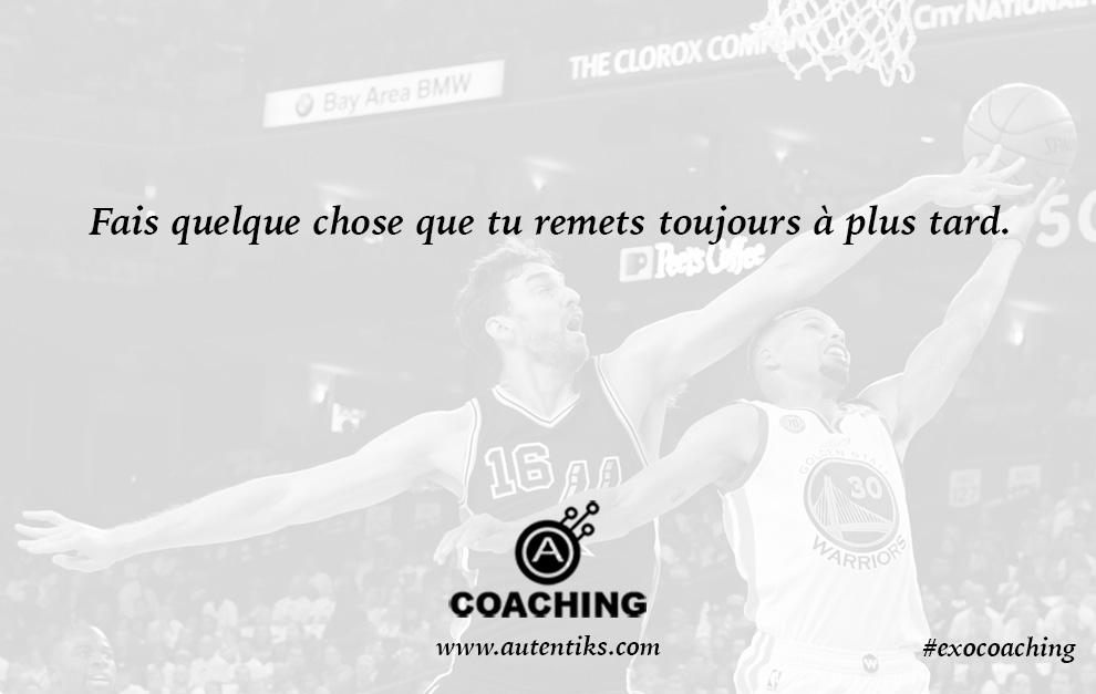 Semaine 16 – Exercice de Coaching