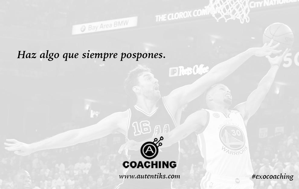Semana 16 – Ejercicio de Coaching