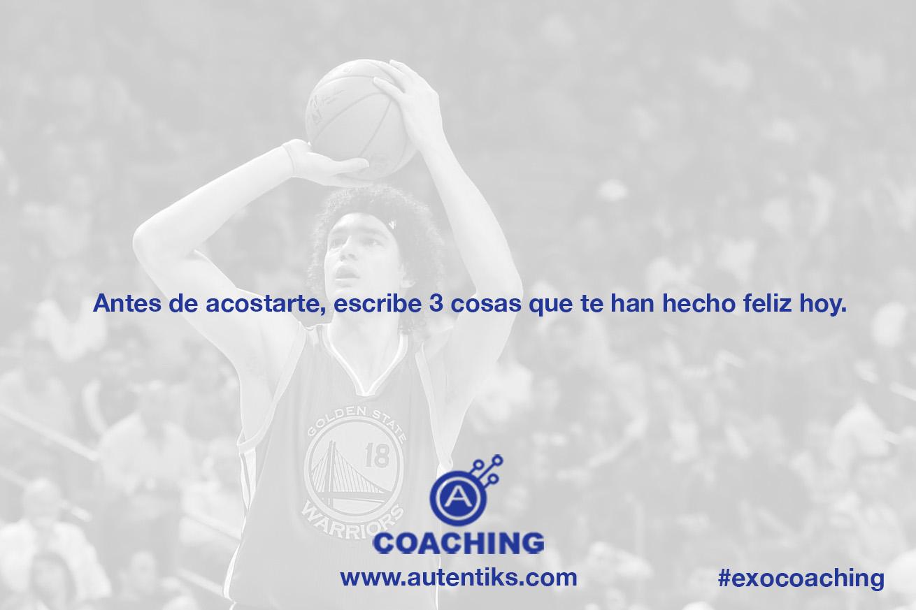 Semana 18 – Ejercicio de Coaching