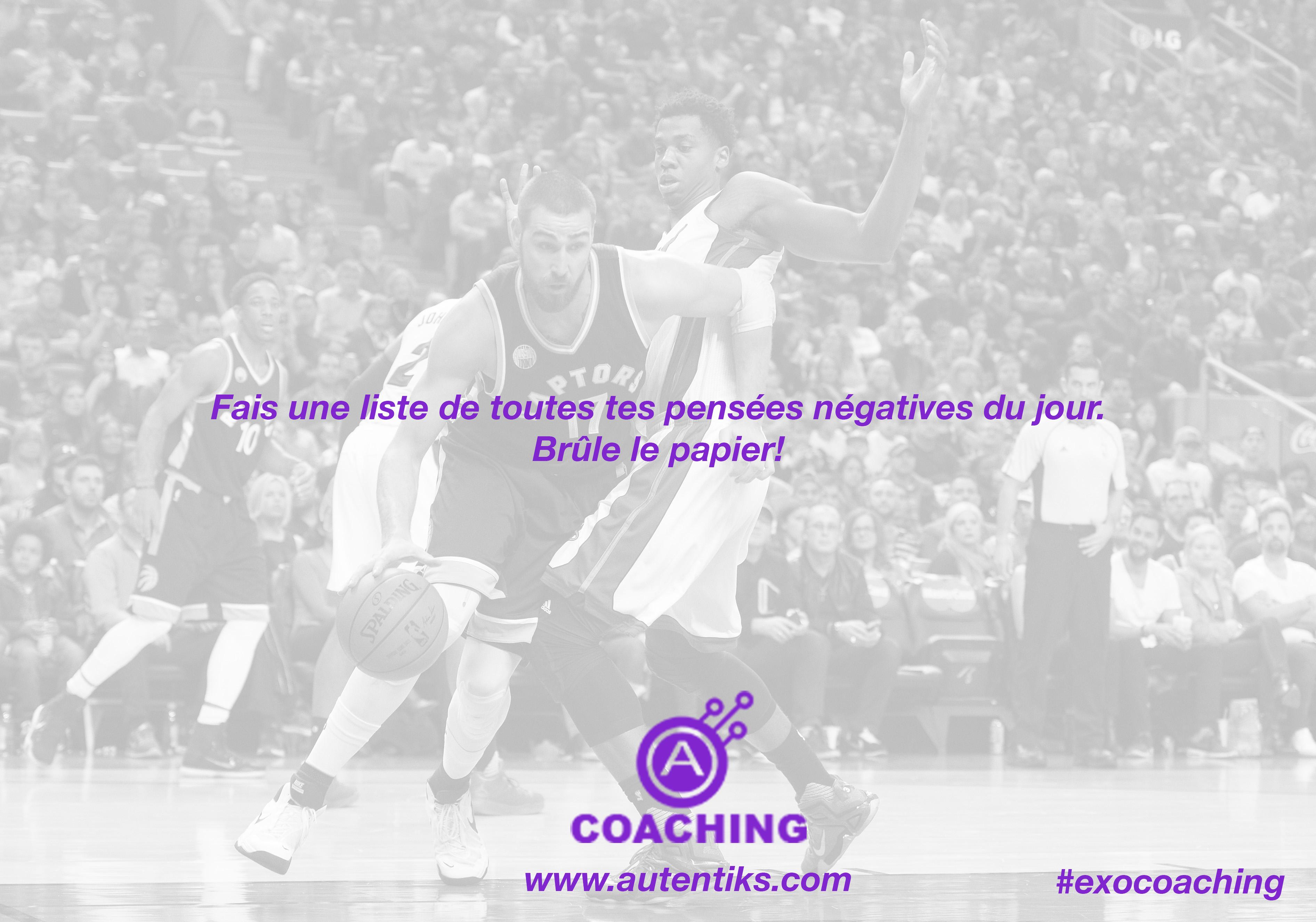 Semaine 17 – Exercice de Coaching